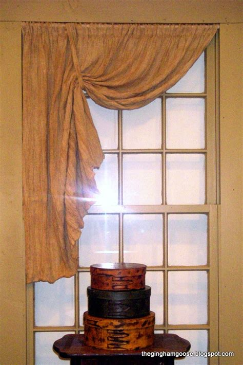 primitive window curtains stained and grudged for the primitive home primitive