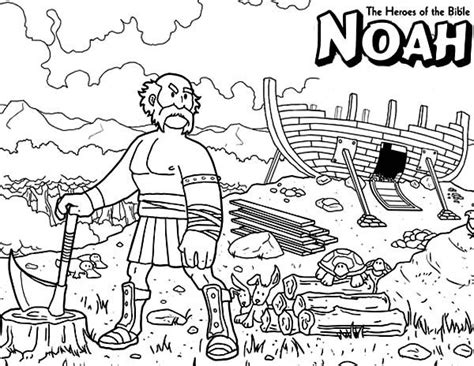 Bible Coloring Pages For Noah by 33 Best Coloring Bible Ot Genesis Images On