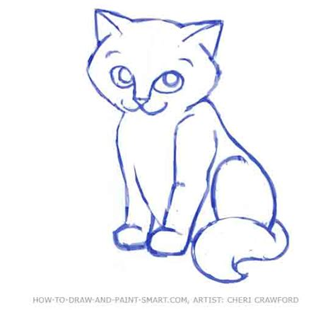 how to draw cat how to draw a cat