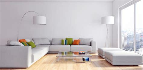 modern living room render