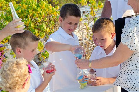 Wedding Ceremony Joining Ideas by Blended Family Wedding Vows Weddings By