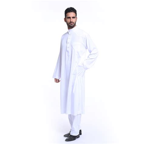 Abaya Arab Saudi White 2 saudi white black thobe jubba arab robe dishdasha