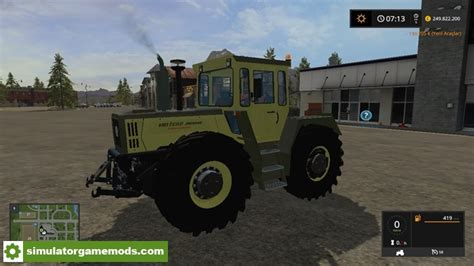 download mod game turbo fs17 mercedes benz 1800 intercooler turbo tractor
