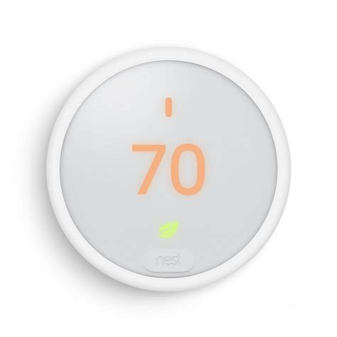 nest learning thermostat e white