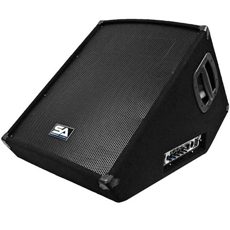 Monitor Aktif 15 Inch powered 15 quot floor monitor pa dj pro audio band speaker