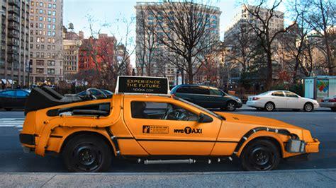 delorean concept this delorean taxi concept will likely never hit 88 mph