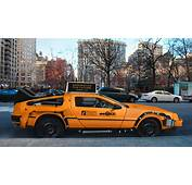 This DeLorean Taxi Concept Will Likely Never Hit 88 Mph