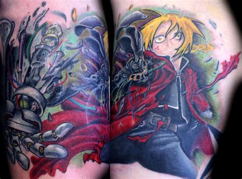 homunculus tattoo placement edward elric tattoos