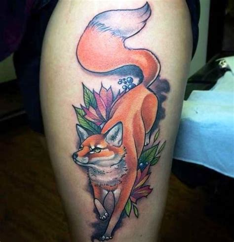 finger tattoo fox 30 fox tattoos tattoofanblog