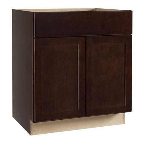assembled 30x34 5x24 in base kitchen cabinet in hton bay shaker assembled 30x34 5x24 in base kitchen
