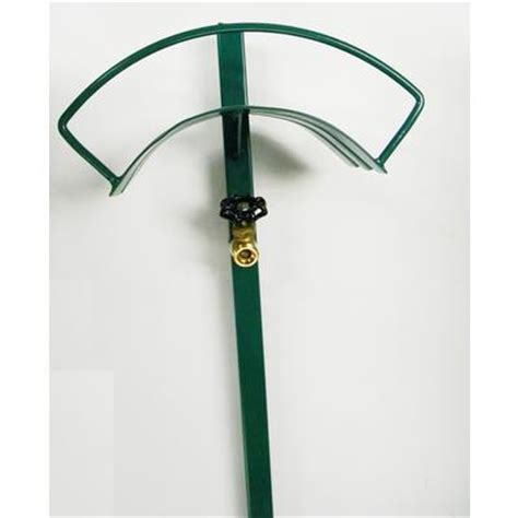 Garden Hose Hanger With Faucet by Continental Free Standing Hose Hanger Faucet Home