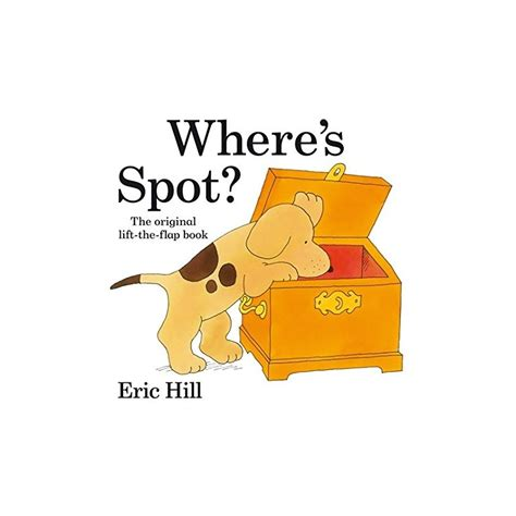 libro wheres spot where s spot original lift the flap english wooks