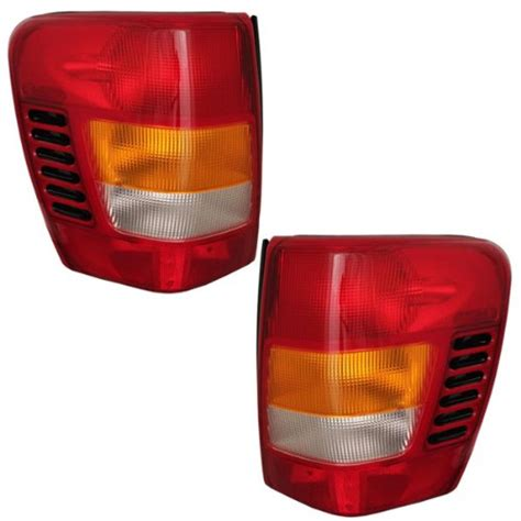 1999 jeep grand cherokee tail light jeep grand cherokee tail light lens at monster auto parts
