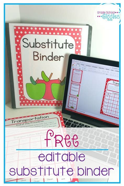 1000 Ideas About Substitute Teacher Forms On Pinterest Teacher Forms Student Information Substitute Folder Template