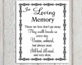 in loving memory quotes for wedding image quotes at