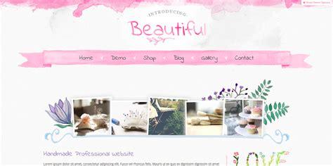 wordpress blog themes uk beautiful hand painted watercolour wordpress theme web