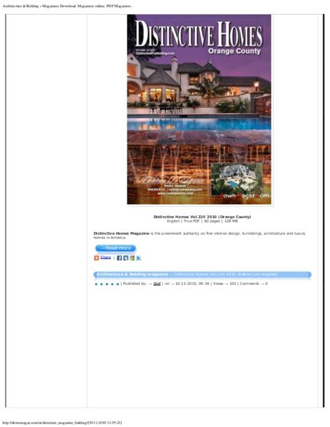 download luxury home design magazine vol 15 issue 6 pdf magazines download magazines online pdf magazines