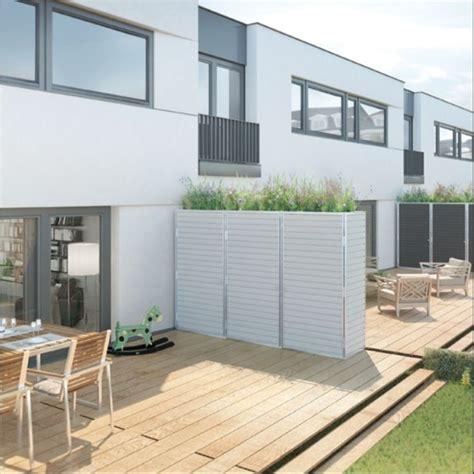 terrasse oder balkon die 25 besten ideen zu trennwand garten auf