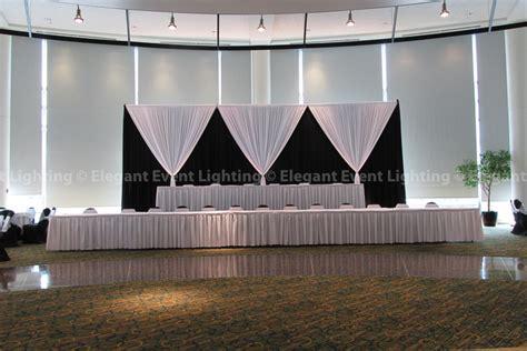 Fabric Backdrops Elegant Event Lightingelegant Event Black And White Wedding Photos
