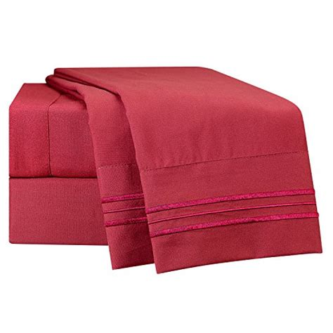 best quality sheet sets king size bed sheets set red burgundy best quality