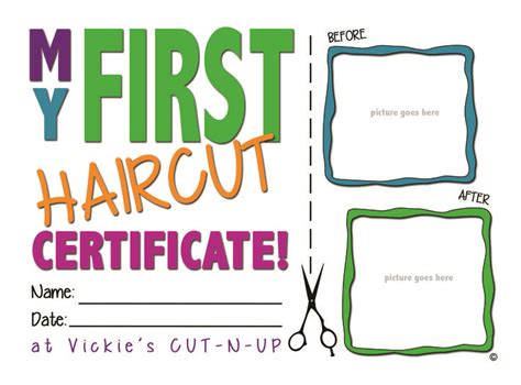 my haircut certificate template 25 best ideas about haircut on boys