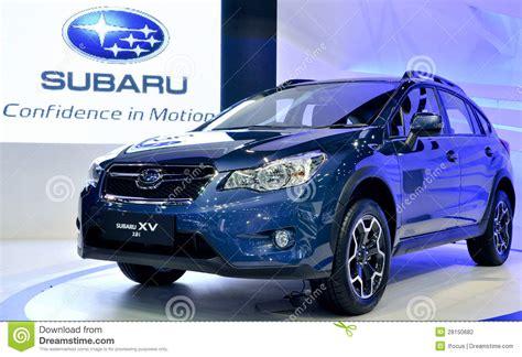 subaru thailand sports utility vehicle subaru editorial photography