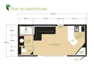 house plans with a pool pool house 20m2