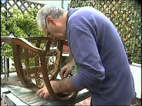 come rivestire una poltrona antica restauro sedia antica 1 176 parte