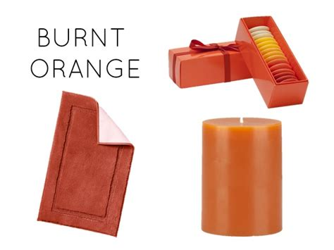 burnt orange bathroom accessories bathroom accents in the warmest fall hues