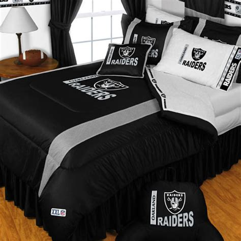 raiders bedroom nfl bedspread all teams 2017 2018 best cars reviews