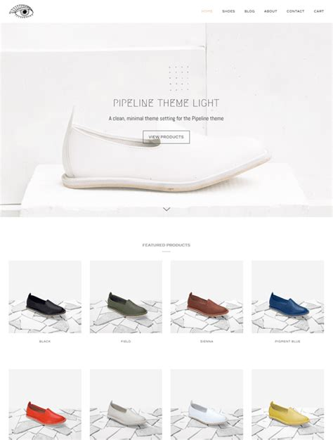 shopify themes shoes 5 of the best shopify themes for shoe stores down