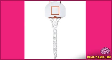 Basketball Hoop Her Memory Glands Funny Nostalgic Basketball Hoop Laundry