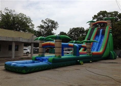 attractive big commercial backyard water slide