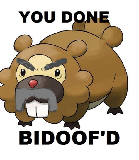 Bidoof Meme - bidoof meme memes