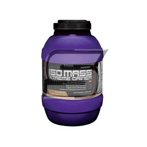 Iso Mass Xtreme Gainer 1011lb By Ultimate Nutrition ultimate nutrition iso mass xtreme gainer supplement mart