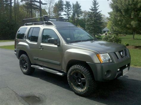 nissan xterra road tires fulfills wish being chased by for 1000