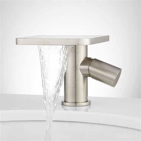 3 bathroom sink faucet 3 waterfall bathroom sink faucet