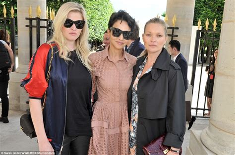 Geekery Rubs On Catwalk For Operation Kate Moss by Kate Moss Joins David Beckham At Louis Vuitton Show For