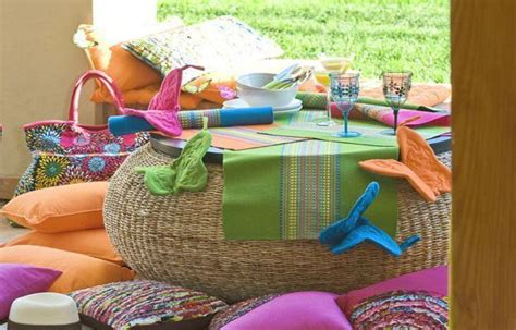 colorful home decor accessories bright decor accessories and color combinations for summer