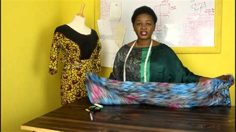 how to sew iro and buba styles how to cut the traditional african buba or blouse youtube