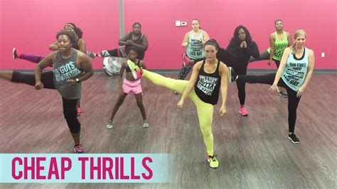 32 cheap thrills sia featuring sean paul sia cheap thrills ft sean paul dance fitness with
