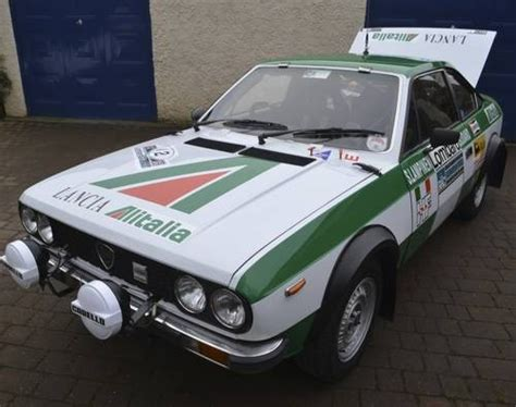 for sale lancia beta 2 0 coupe historic rally car 1980