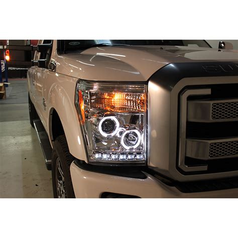 250 Led Headlights by 2011 Ford F250 Projector Headlights