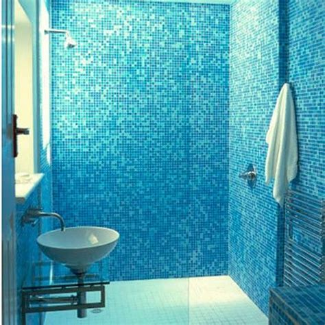 mosaic tile in bathroom 40 blue mosaic bathroom tiles ideas and pictures