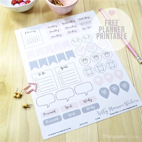 printable stickers bullet journal my favourite free bullet journal printables more than