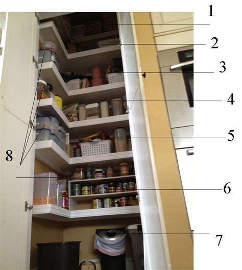 Pantry Shelf Spacing by Casalupoli Kitchen Pantry Intervention