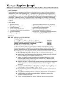 resume summary exles berathen