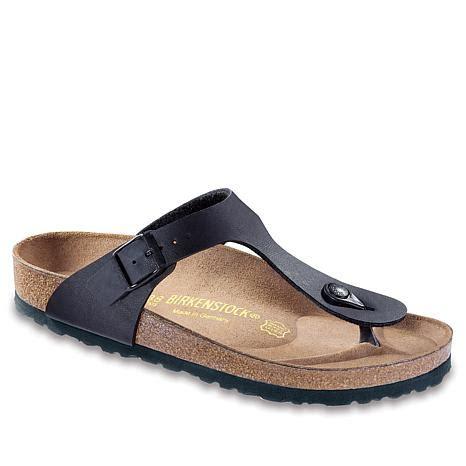 birkenstock comfort birkenstock quot gizeh quot thong comfort sandal 7743088 hsn