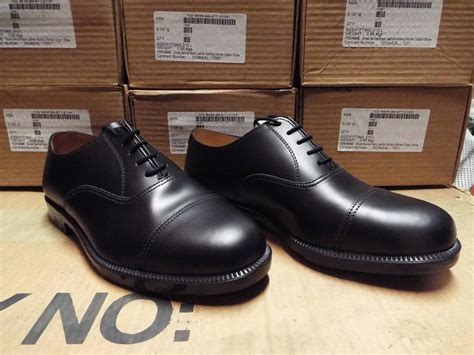 army oxford shoes new genuine army raf navy oxford black leather
