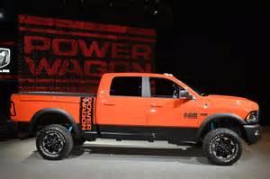 2017 ram 2500 power wagon adopts a rebel like